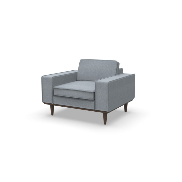 platform axis lounge chair