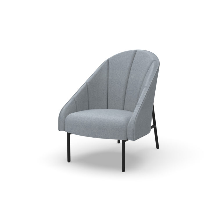 platform ellipse chair