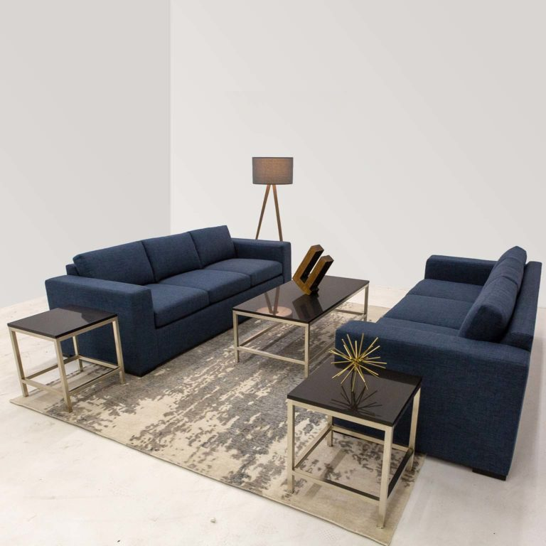 Platform Edison Sofa Orion side table orion coffee table