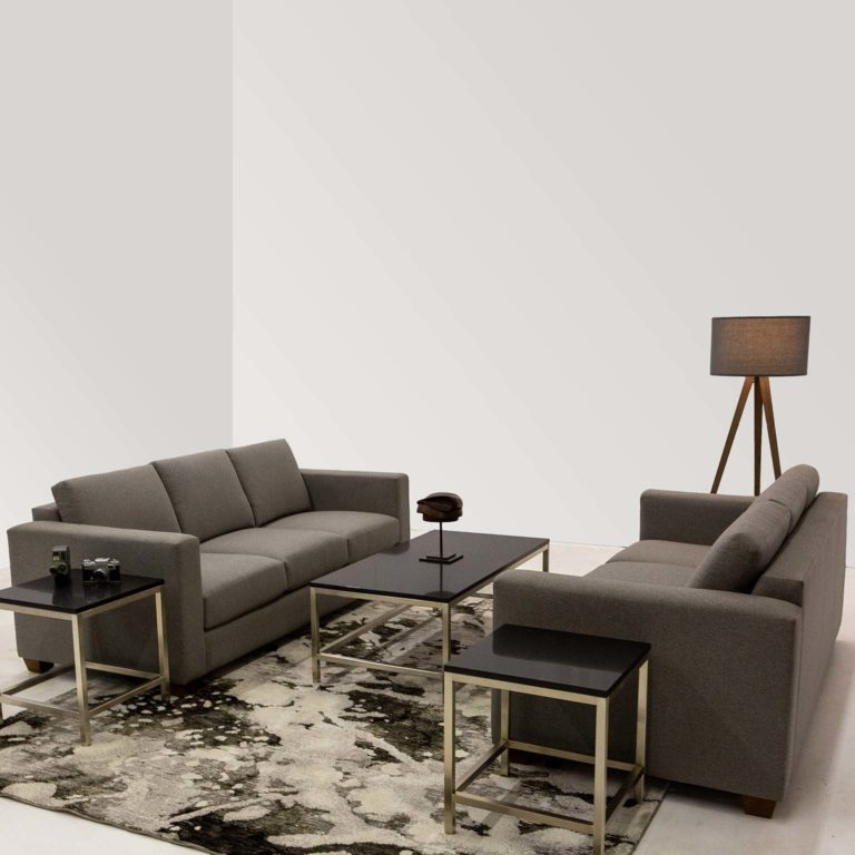 Platform lounge sofa orion coffee table orion side table